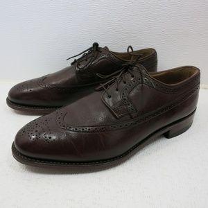 Johnston & Murphy Brogue Leather Oxfords 10.5 D/B